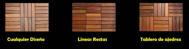 Venta e instalaci n de pisos deck para exteriores m xico d f for Pisos de loseta para exteriores